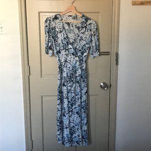 Rouje-Inspired Wrap Dress